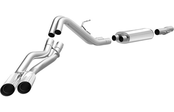 Nissan Titan FCD Exhaust - FMS Performance Custom Build to