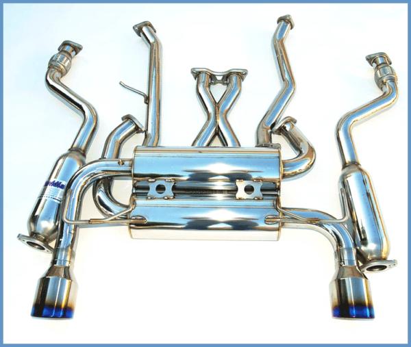 03-08 Infiniti G35 Exhaust