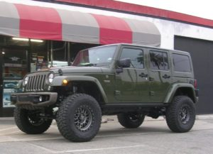 jeep accessory installation